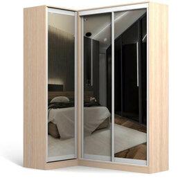 Шкафы, стенки, гарнитуры - Шкаф угловой с зеркалом РОМЕО 7, 0