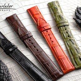 Ремешки для часов - Ремешок для часов из крокодила 22 мм, 0