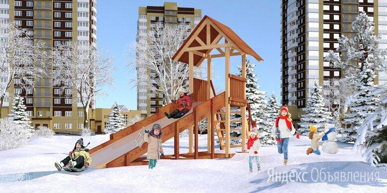Зимняя горка Савушка Зима 5 по цене 99000₽ - Игровые и спортивные комплексы и горки, фото 0