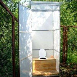 Готовые строения - Туалет из поликарбоната для дачи, 0