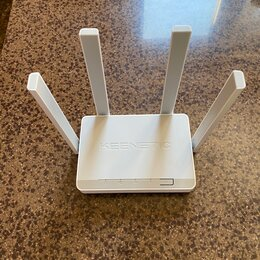 Проводные роутеры и коммутаторы - Wi-Fi роутер KEENETIC EXTRA, белый - 2шт., 0
