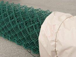Заборчики, сетки и бордюрные ленты - Сетка Рабица с полимерным покрытием , 0