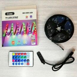 Светодиодные ленты - Лента RGB LED USB с пультом ДУ, 0