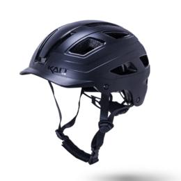 Спортивная защита - Велошлем KALI CRUZ, URBAN/CITY/MTB, с фонариком, черный, 2021 (Размер: L/XL (5, 0