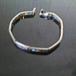 Браслеты - Серебряный браслет с перламутровыми вставками., 0
