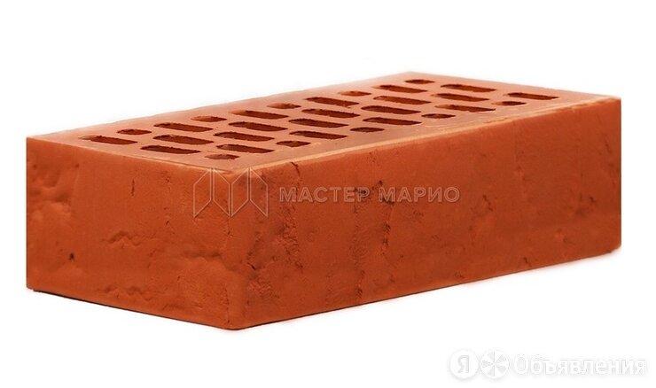 Кирпич лицевой керамический Красный «Лава» пустотелый одинарный по цене 20₽ - Кирпич, фото 0