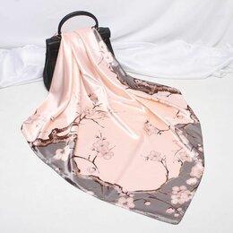 Шарфы, платки и воротники - Платок женский атласный, 0