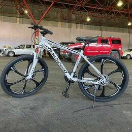 Велосипеды - Велосипед горный на литых дисках, 0