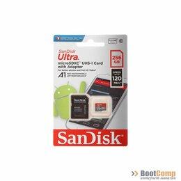 Карты памяти - Память micro Secure Digital Card 256Gb SanDisk [SDSQUA4-256G-GN6MA], 0
