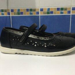 Балетки, туфли - Туфли школьные для девочки, 0