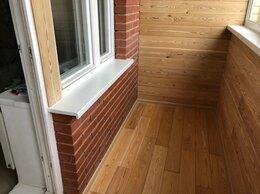 Архитектура, строительство и ремонт - Отделка балкона вагонкой, деревом. Утепление, 0