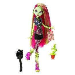 Куклы и пупсы - Кукла Monster High Венера Макфлайтрап (базовая), 0