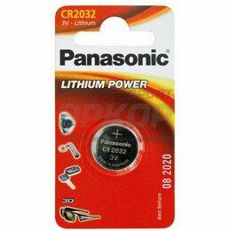 Батарейки - Элемент питания Panasonic Lithium Power CR2032 BL1 1/6, 0