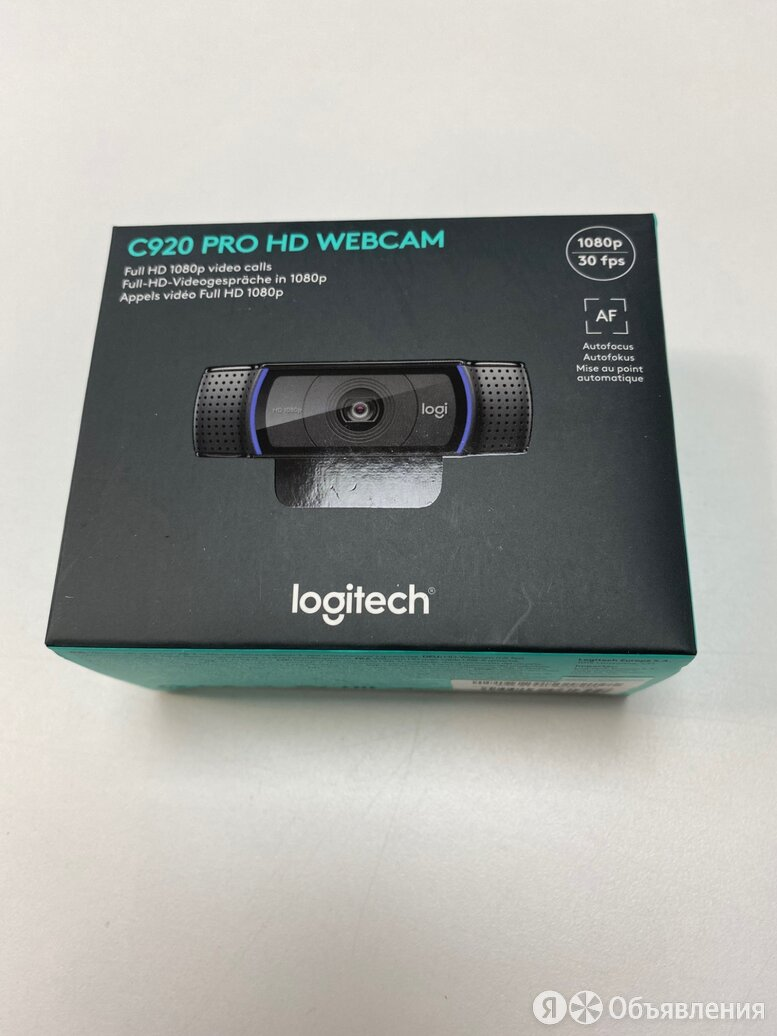 Веб камера Logitech c920 HD по цене 5600₽ - Веб-камеры, фото 0