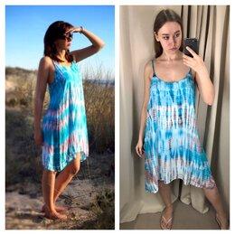 Пляжная одежда - Сарафан женский новый пляжный для отдыха (Индия), 0