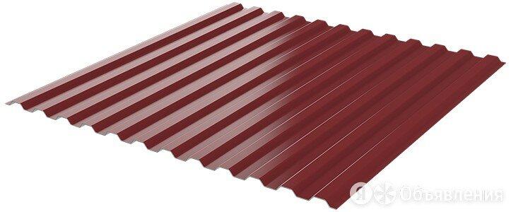 Профнастил НС-10 RAL3005 Красное Вино лист 2.5 метра ш1.19м т0.45мм по цене 1937₽ - Кровля и водосток, фото 0
