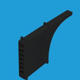 Вентиляция - Вентиляционные коробочки, черные, 0