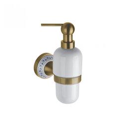 Мыльницы, стаканы и дозаторы - Bemeta Настенный дозатор для жидкого мыла (керамика) Bemeta KERA, 0