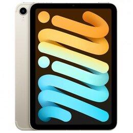 Планшеты - Apple iPad Mini 6 (2021) 64GB Wi-Fi+Cellular Starlight, 0