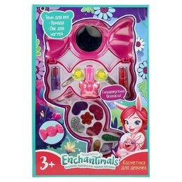 Детям - Косметика для девочек 'Энчантималс', тени для век, помада, лак для ногтей, за..., 0