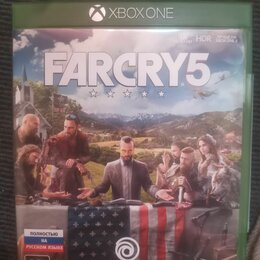 Игры для приставок и ПК - Far cry 5 xbox one лицензионный диск, 0