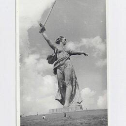 Фотографии, письма и фотоальбомы - Фото СССР фотография 1980-е Родина-мать Волгоград Сталинград Мамаев, 0