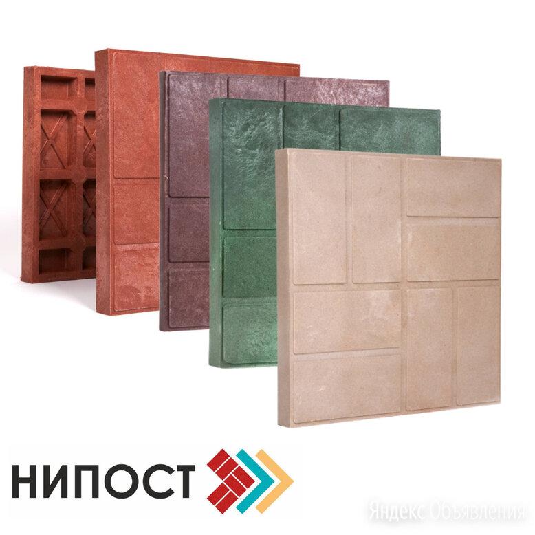 Тротуарная плитка полимерпесчаная 330*330*35 мм по цене 94₽ - Тротуарная плитка, бордюр, фото 0
