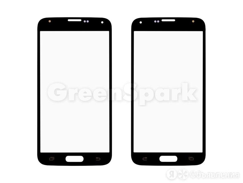 Стекло для переклейки на Samsung G900 Galaxy S5 (черный) по цене 140₽ - Дисплеи и тачскрины, фото 0