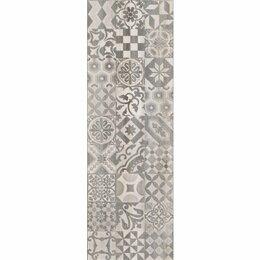 Керамическая плитка - Декор 2 Альбервуд белый (1664-0166) 20х60 (4шт), 0