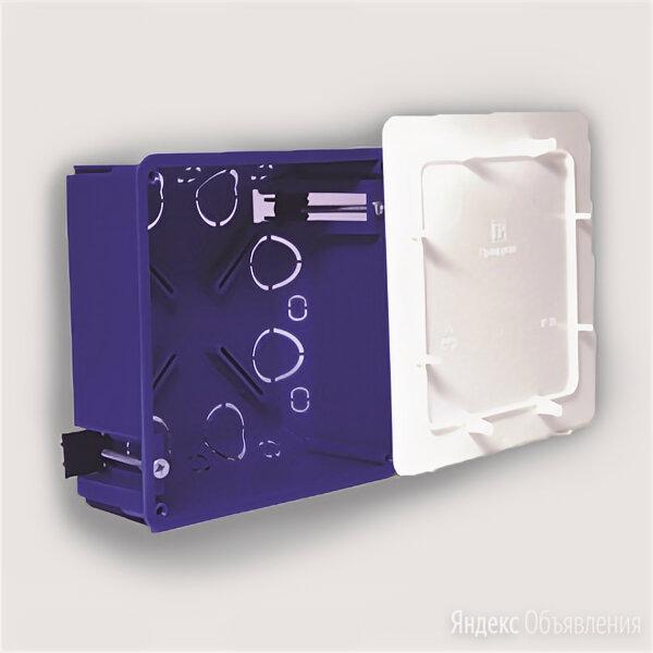 Коробка распределительная скрытой установки 103х103х47мм 80-0960 20 вводов IP... по цене 65₽ - Товары для электромонтажа, фото 0