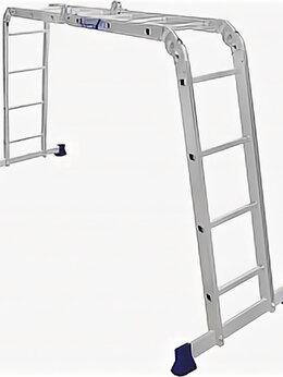 Лестницы и стремянки - Лестница -Трансформер 4,10 м  2х3+2х4 ТL 4034…, 0