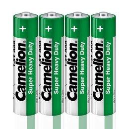 Батарейки - Элемент питания солевой R R03 (шринка 4шт) Camelion 1659, 0
