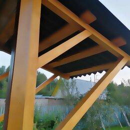 Дизайн, изготовление и реставрация товаров - Козырёк навес деревянный, 0