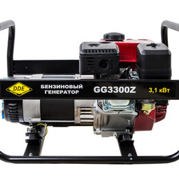 Электрогенераторы и станции - Бензиновый генератор DDE GG3300Z, 0