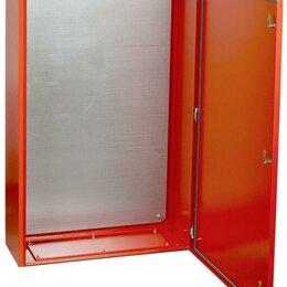 Электрические щиты и комплектующие - Корпус металлический ЩМП-4-0 У2 IP54 RAL 3020 IEK IND-YKM40-04-54, 0
