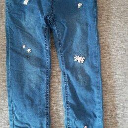 Джинсы - Тёплые джинсы для девочек , 0