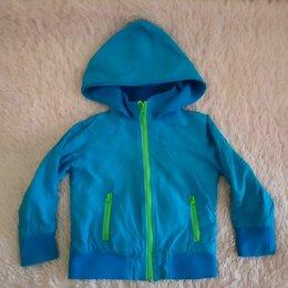Куртки и пуховики - Ветровка на флисе детская цифра, 0