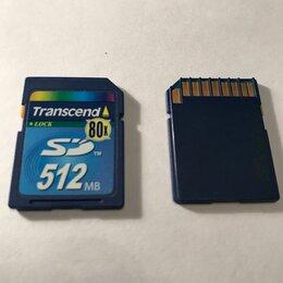 Карты памяти - Карта памяти Transcend 512 Mb, 0