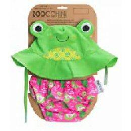 Подгузники - Подгузник для плавания и солнцезащитная панамка в наборе Zoocchini Крабик. Ра..., 0