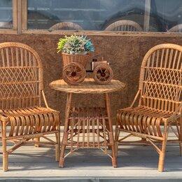 Кресла и стулья - Комплект плетеной мебели ручной работы. , 0