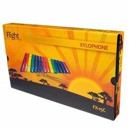 Ударные установки и инструменты - Flight FX-15C ксилофон (15 нот), разноцветный, 2 палочки, 0