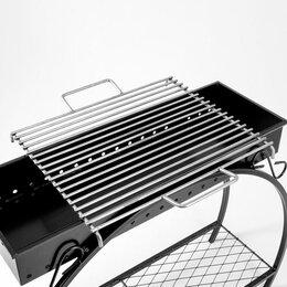 Решетки - Решетка гриль 'Кованая' 50 х 60, нержавеющая сталь, 0