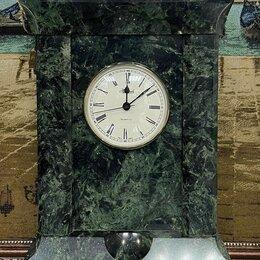 Часы настольные и каминные - Часы настольные каминные из натурального камня.й, 0