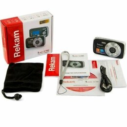 Фотоаппараты - Фотоаппарат цифровой rekam ilook s760i темно-серый, 0