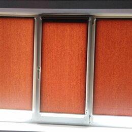 Жалюзи - Жалюзи на пластиковые окна рулонные кашированные, 0