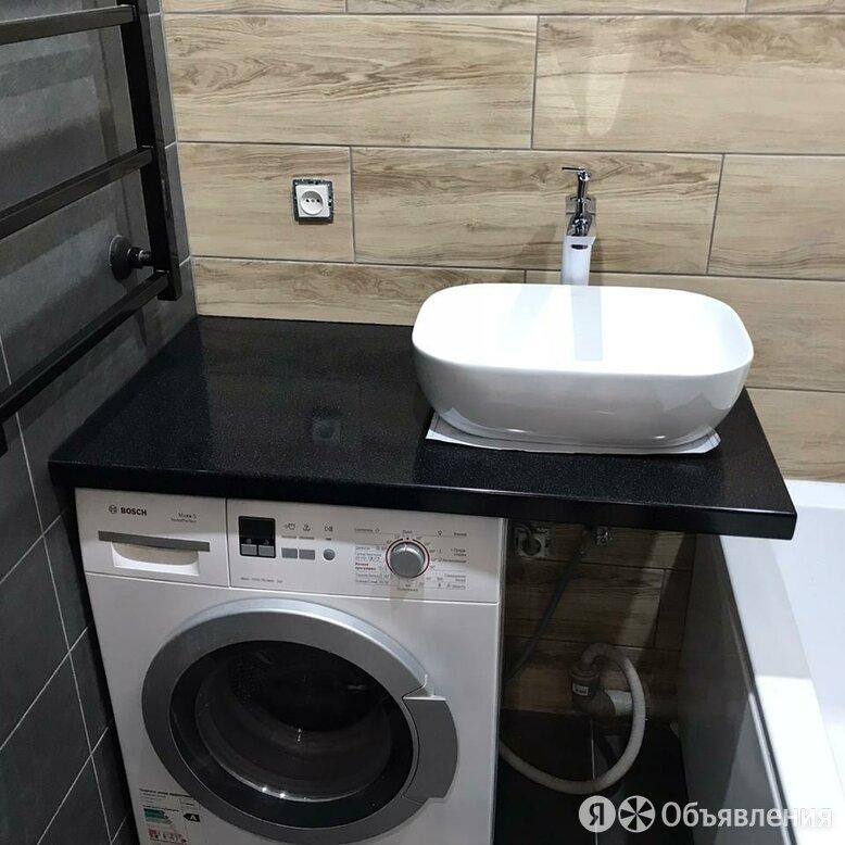 Столешница для ванной из искусственного камня по цене 23980₽ - Комплектующие, фото 0