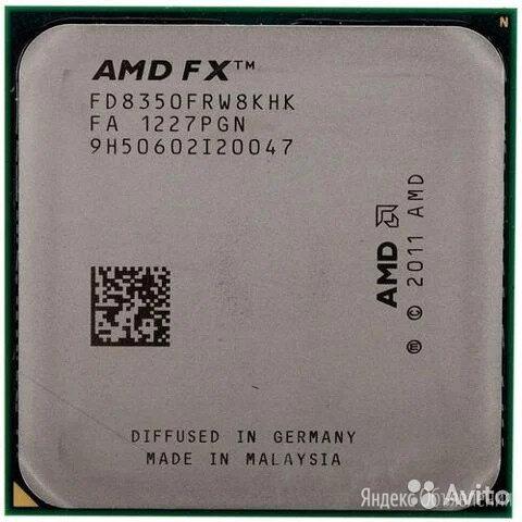 ПРОЦЕССОР FX-8350 по цене 6500₽ - Процессоры (CPU), фото 0