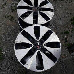 Шины, диски и комплектующие - Диски 15е 4×100литые на киа 4шт, 0
