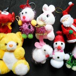 Новогодние фигурки и сувениры - Новогодние елочные игрушки, мягкие, 0