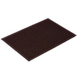 Ковры и ковровые дорожки - Коврик придверный пористый Vortex 40х60 см коричне, 0